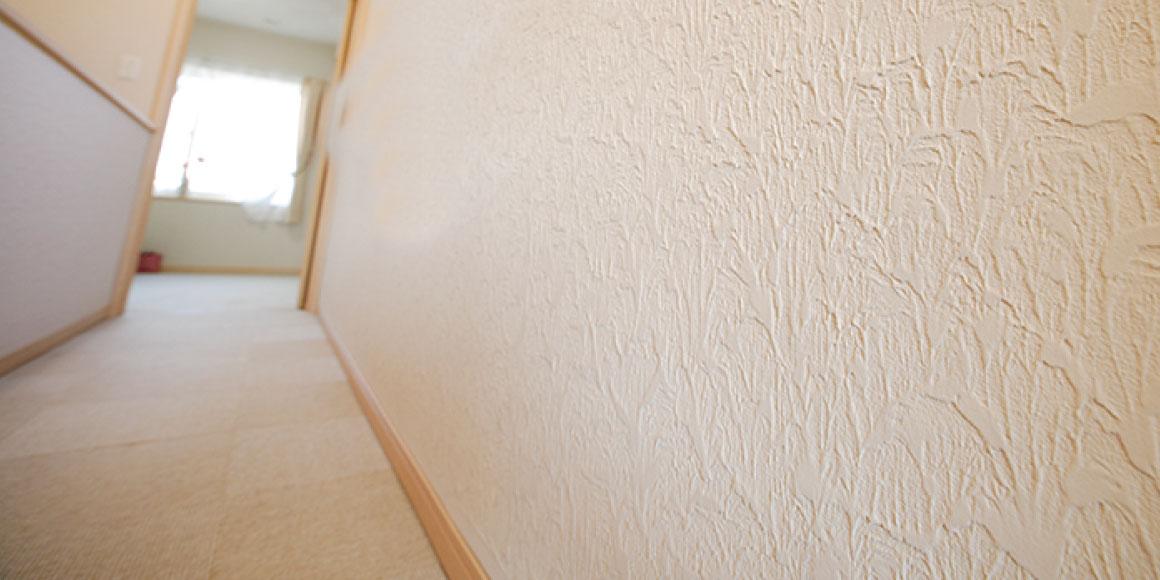 スモリの家 塗り壁 ぬりかべ
