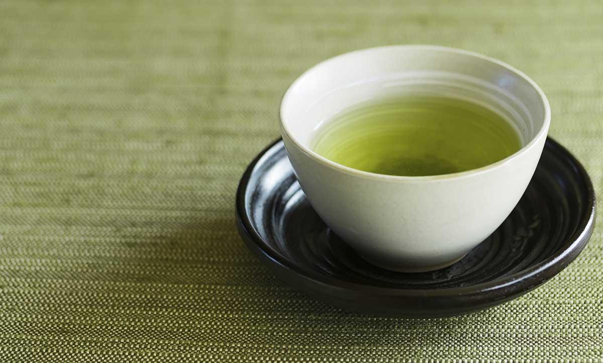 新茶のティータイムでくつろぎの時間